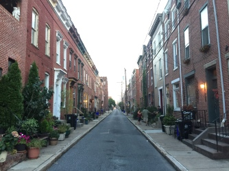 Susquehanna Street looking north